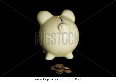 Piggy Bank Poop