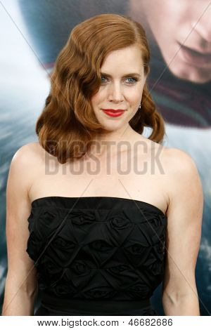 NEW YORK-JUNE 10: Actress Amy Adams attends the world premiere of