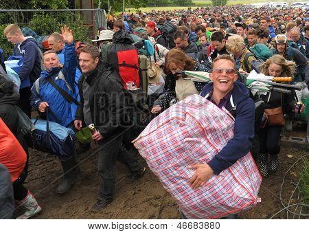 Festival crowds