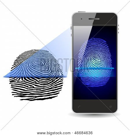 SMARTPHONE FINGERPRINT SCAN