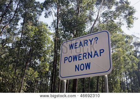 Weary?