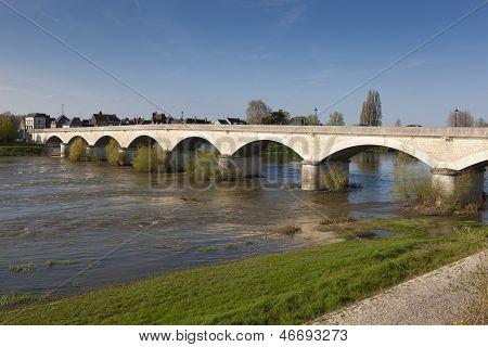 Bridge Of Amboise, Indre Et Loira, Centre, France