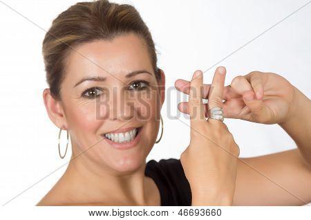 Woman Hashtag