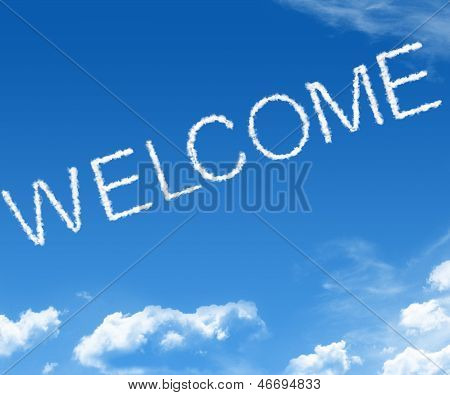 Cloud Welcome
