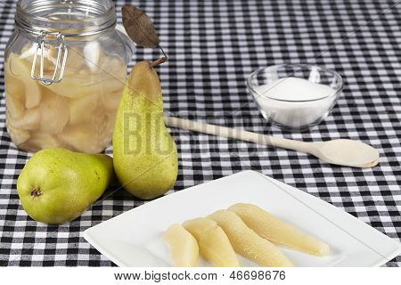 Cooked Pears