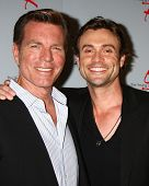 LOS ANGELES - JUN 4:  Peter Bregman, Daniel Goddard arrives at SAG-AFTRA Panel Discussion With The C