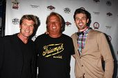 LOS ANGELES - JUN 3:  Winsor Harmon, Guest, Adam Gregory at the Player Concert at the Canyon Club on