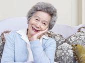 Постер, плакат: Старший женщина