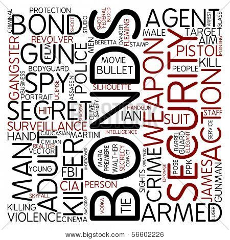Word cloud - bonds
