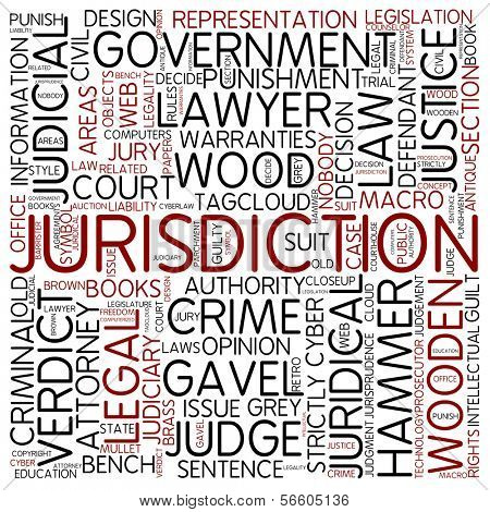 Word cloud - jurisdiction