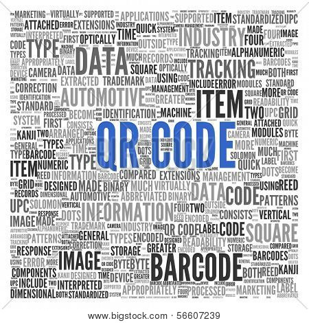 QR Code | Conceptual wallpaper