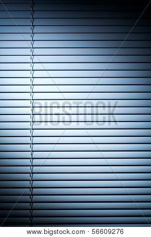 Shutters With Blue Spot Light