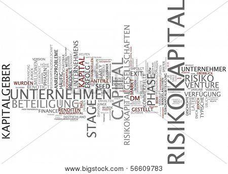 Word cloud- Venture capital