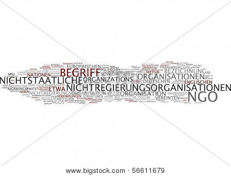 Word Cloud - NGO