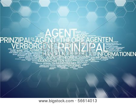 Word Cloud - Principal-Agent Theory