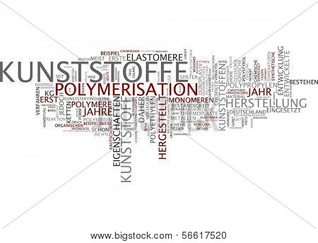 Word cloud - plastic