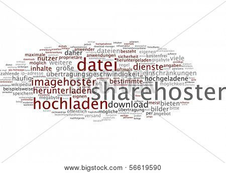 Sharehoster cloud - nube de Word - Word