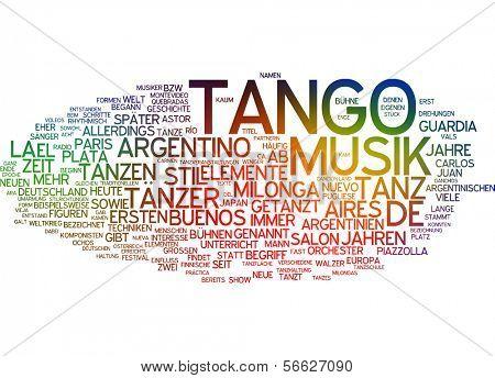 Word Cloud - Tango