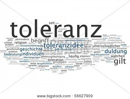 Word Cloud - Tolerance