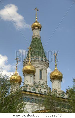 Russian Church in Sofia, Bulgaria
