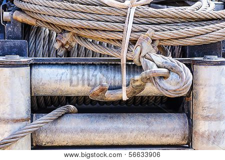 Close Up Winch