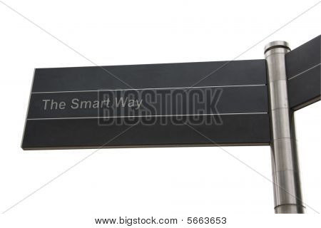 Smart Themed Street Sign
