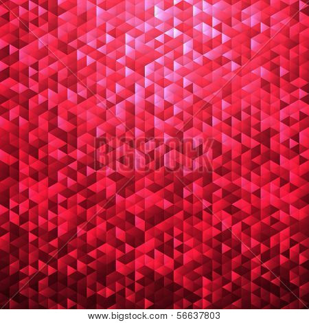 Pink red blinking glitter background.Glittering sequins mosaic pattern.