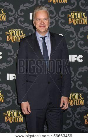 LOS ANGELES - JAN 7:  Tim Robbins at the IFC's