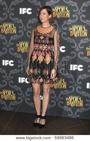 LOS ANGELES - JAN 7:  Kristen Wiig at the IFC's