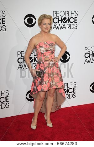 LOS ANGELES - JAN 8:  Melissa Joan Hart at the People's Choice Awards 2014 Arrivals at Nokia Theater at LA LIve on January 8, 2014 in Los Angeles, CA