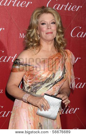 PALM SPRINGS - JAN 4:  Mary Hart at the Palm Springs Film Festival Gala at Palm Springs Convention Center on January 4, 2014 in Palm Springs, CA