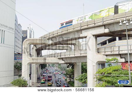 Skytrain, Siam Square, Bangkok