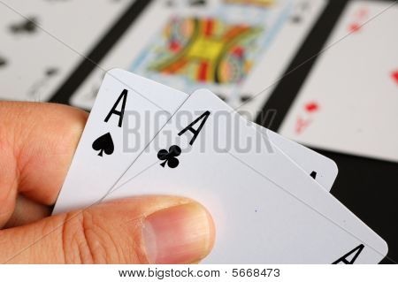 Poker - Pocket Aces