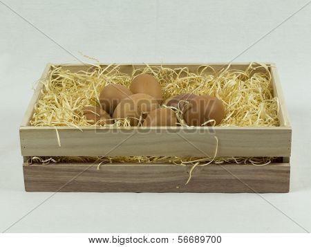 Eggs On Straws