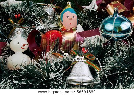 Christmas Decoration With Christmas Toys