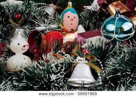 Christmas Decoration With Christmas Toys