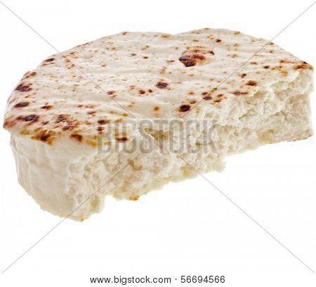 Karelian Cottage cheese isolated on white background
