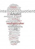 Word cloud -  Intelligence quotient