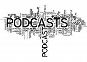 Word Cloud - Podcasting