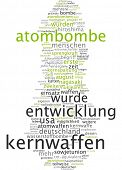 foto of chemical weapon  - Word cloud  - JPG