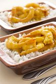 Curried Shrimps
