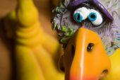 stock photo of dodo  - Ceramic Dodo Bird looking guilty of something - JPG