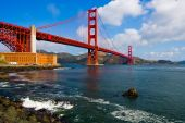 pic of golden gate bridge  - Golden Gate Bridge in San Francisco California - JPG