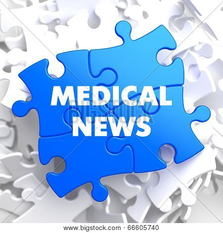 Medical News on Blue Puzzle.