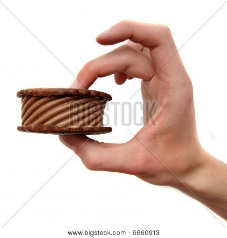 Chocolate Ice Cream Sandwich