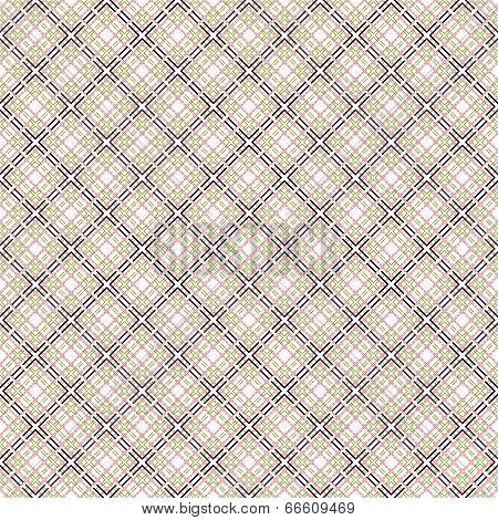 Seamless Mesh Pattern Over White