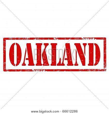 Oakland-stamp
