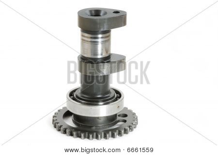 Damaged Motorcycle Camshaft Gear