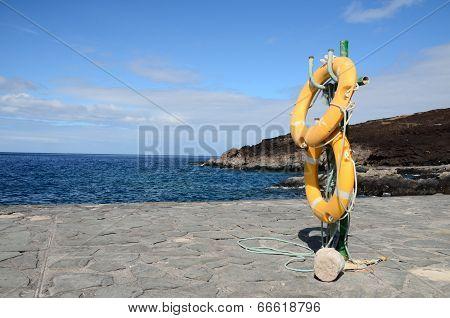 Yellow Life Saver