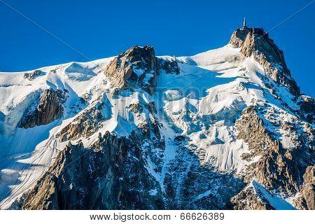 Aiguille Du Midi, 3 842 M Height, French Alps, Chamonix, France